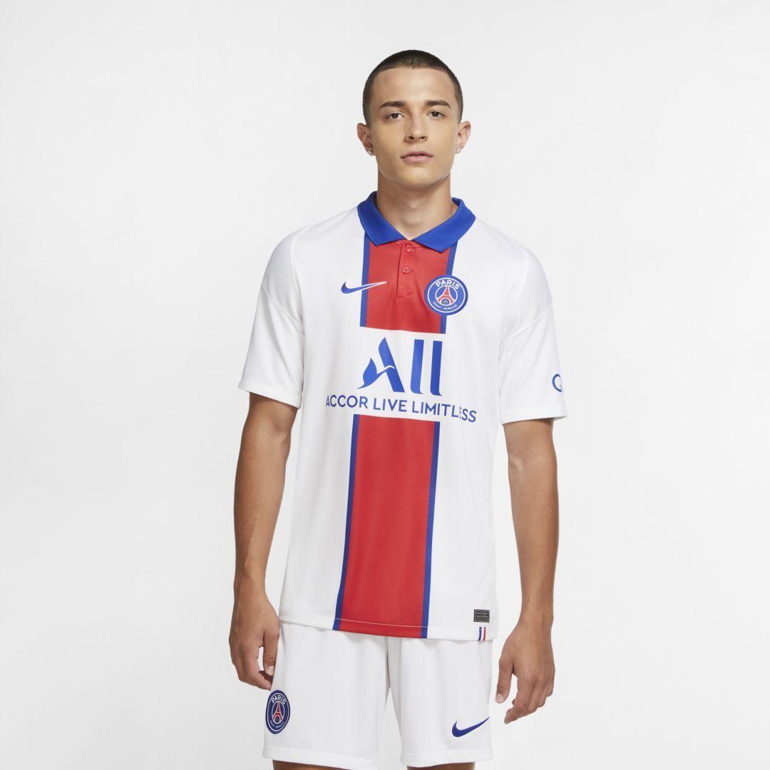 Paris Saint-Germain 2020/21 Stadium Away Men's Soccer Jersey. Nike ...