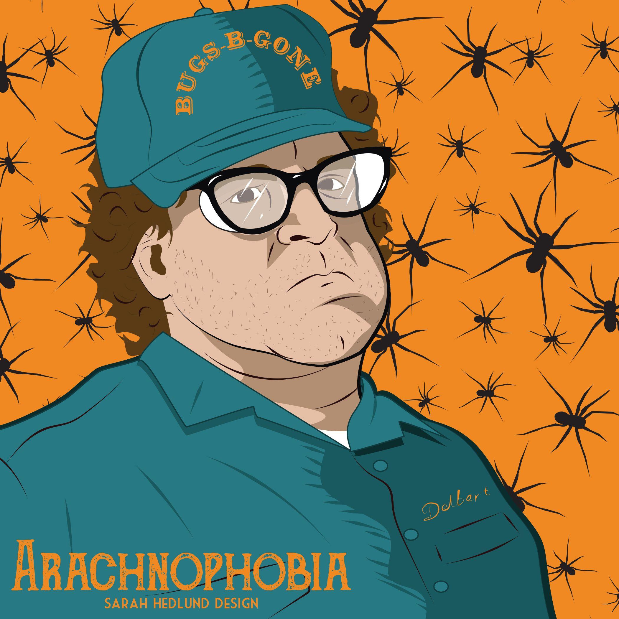 day 24 arachnophobia fear of spiders phobia halloween 31daysofhalloween spiders - Phobia Halloween