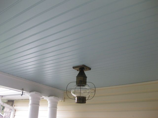 Ohio Haint Blue Dark Example Only Porch Ceiling Haint Blue Porch Ceiling Window Trim