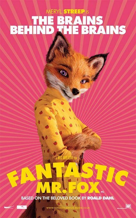 Fantastic Mr Fox Movie Poster 4 Fox Poster Fantastic Mr Fox Fantastic Mr Fox Movie