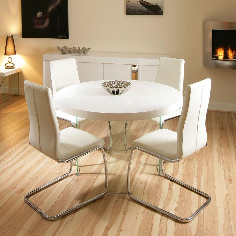 runden weißen esstisch satz  mobelde  kitchen table