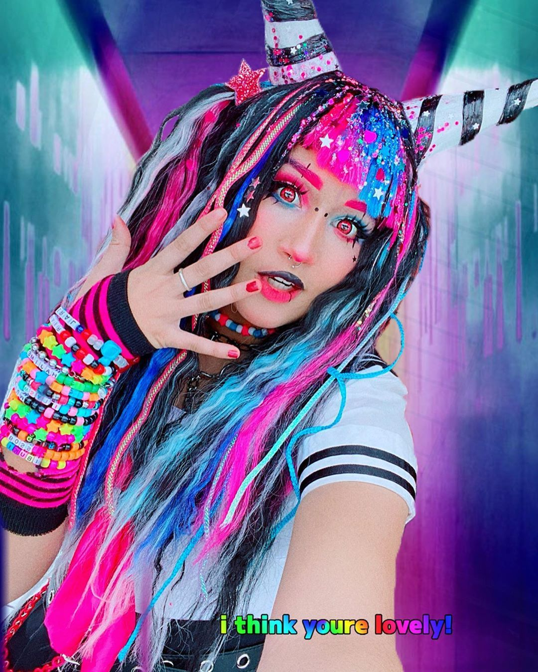 Ibuki Mioda Cosplay By Lampyridaeee Cosplay Cosplay Characters Amazing Cosplay