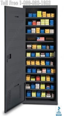 Heavy Duty Ammo Cabinets Lockers Police Department Secure Ammunition Storage