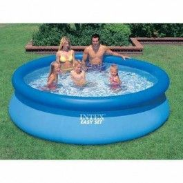 Bew hrtes einsteigermodell 457 x 91 cm liter - How many litres in a swimming pool ...