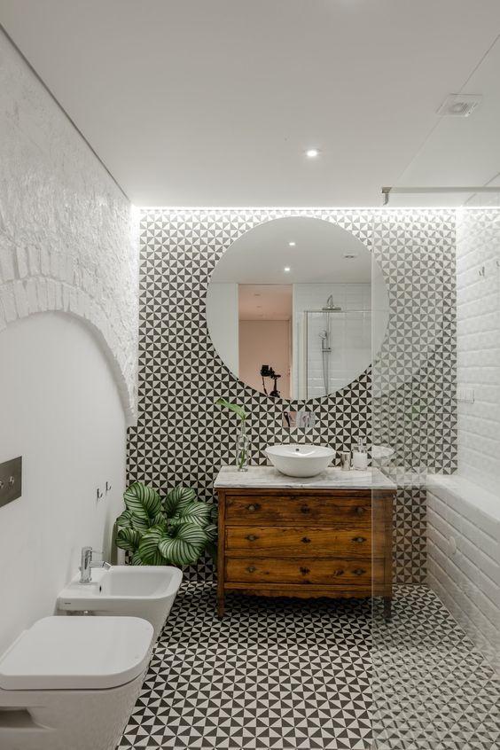 illuminare un bagno cieco con faretti e strisce a led   Bathroom Bathroom toilets e White
