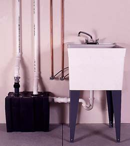 Installing A Basement Laundry Sink Basement Laundry Laundry