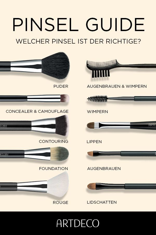 Make-up Pinsel in Profi-Qualität | Shop ARTDECO