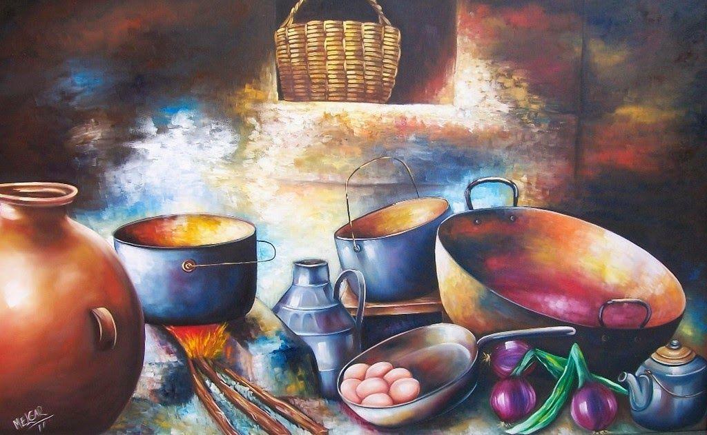 Cuadros para cocinas rusticas buscar con google - Pintura de cocina ...