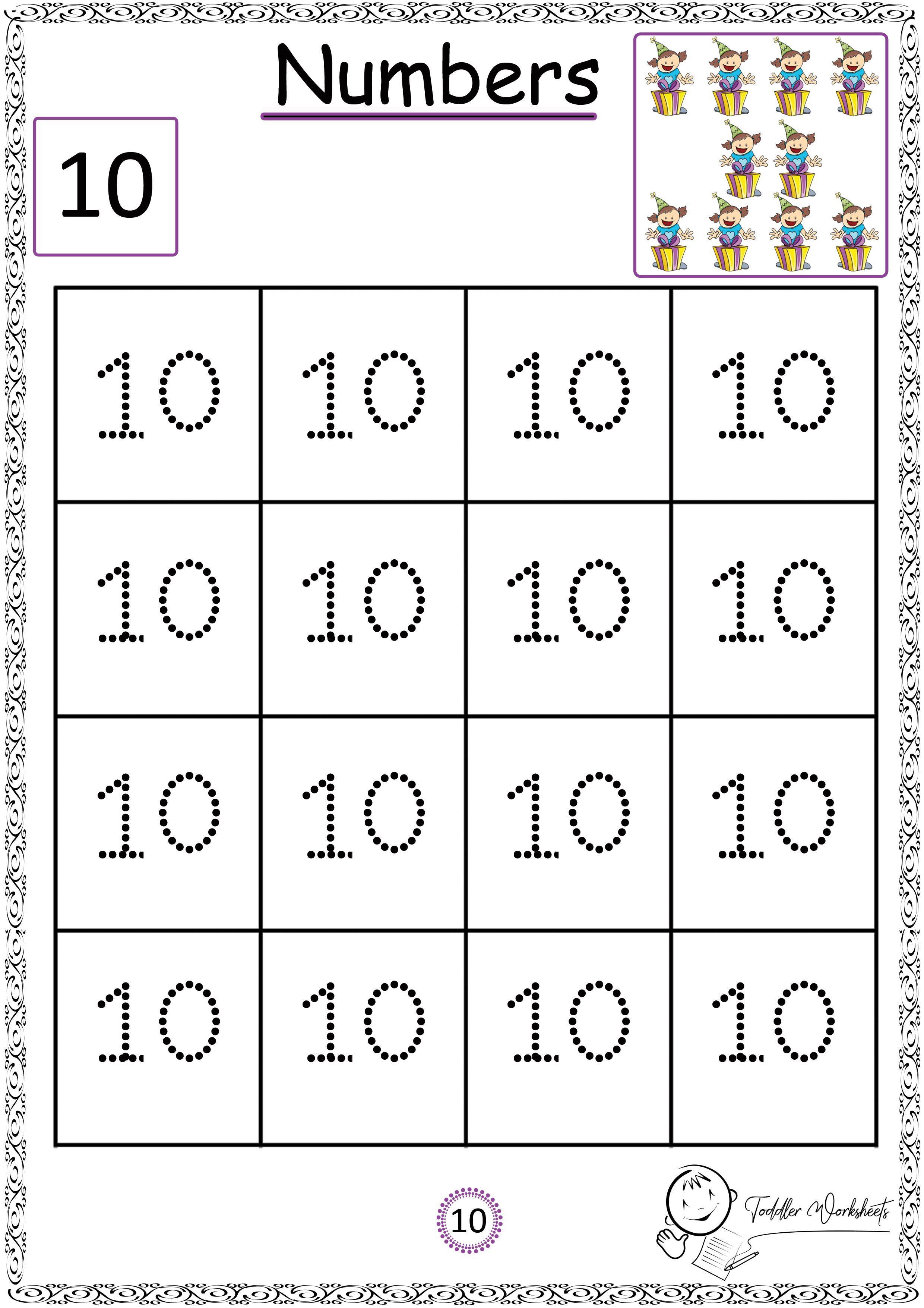 Free Preschool Numbers Worksheets Preschool Number Worksheets Numbers Preschool Free Preschool