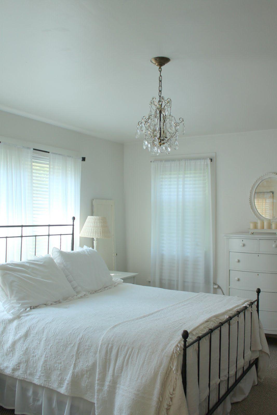 Witte slaapkamer #wit #slaapkamer #inspiratie #bedroom #white #inspiration