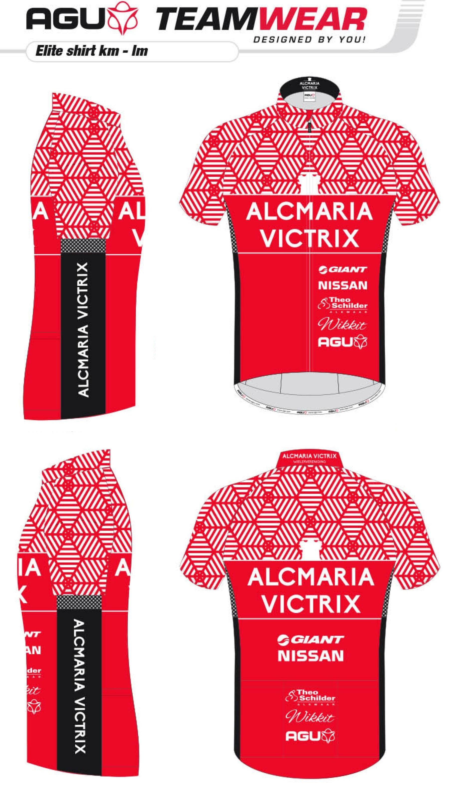 Cycling shirt design your own - Design Your Own Cycling Jersey By Agu Customized Cycling Apparel Designed For Alcmaria