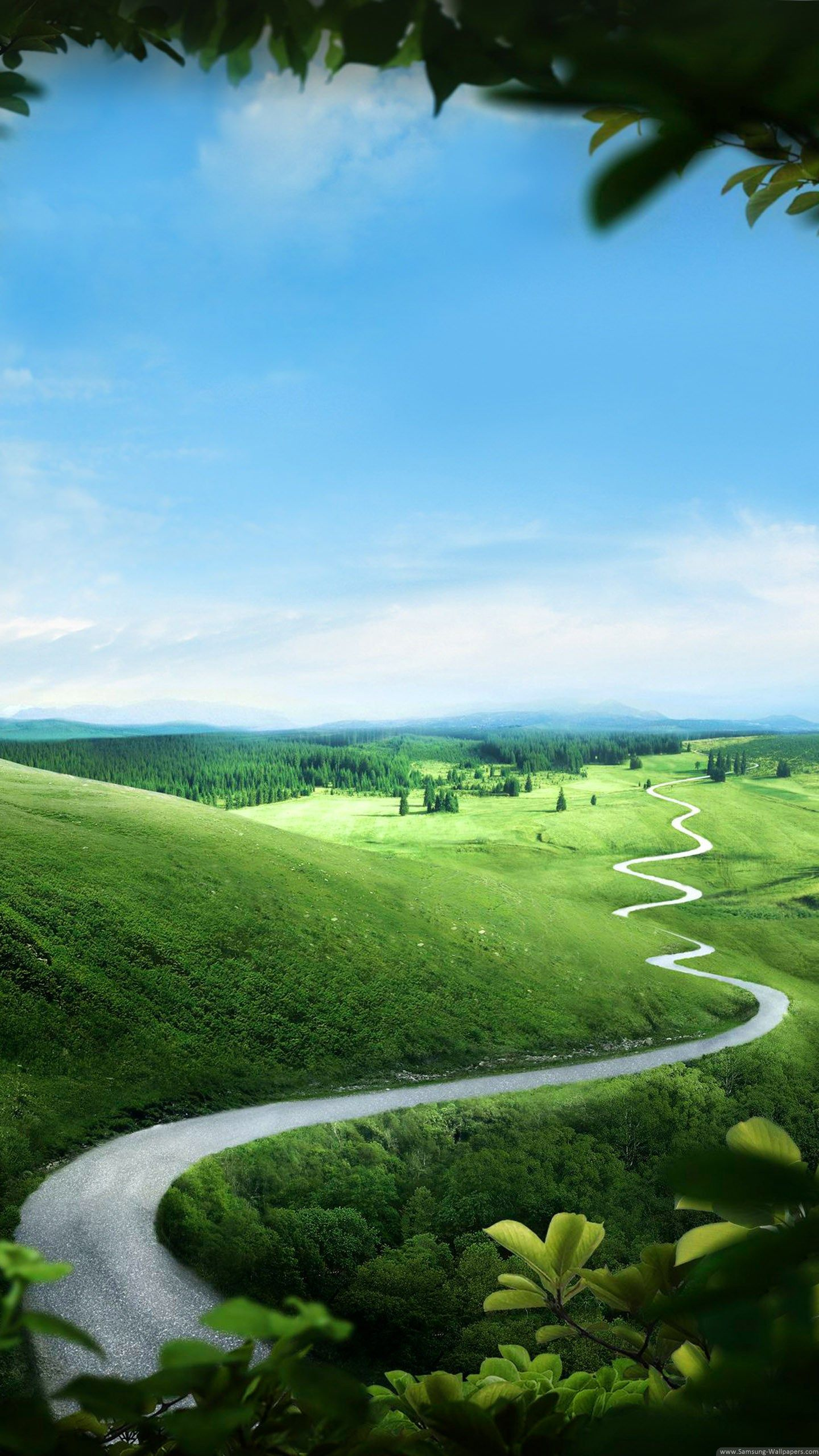 1440x2560 Hd Nature Wallpapers Landscape Wallpaper Green Nature