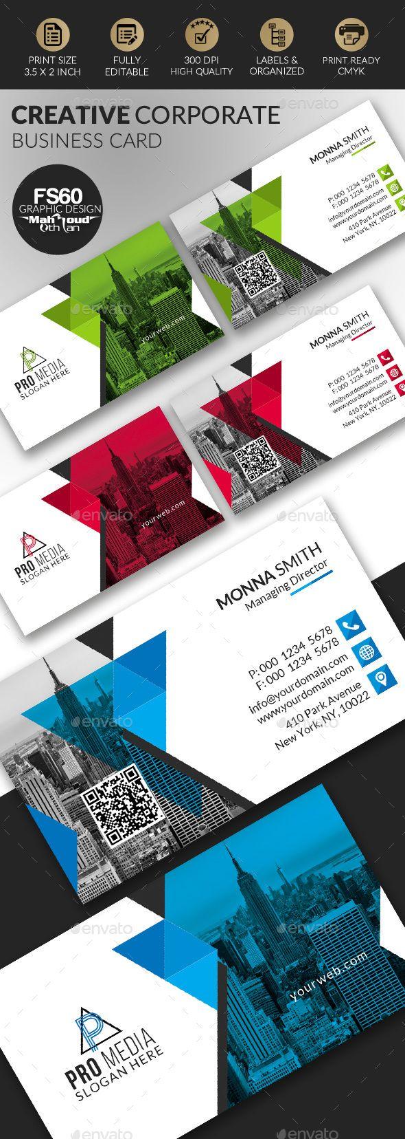 Business Card | Diseño de papelería, Tarjetas de presentación y ...