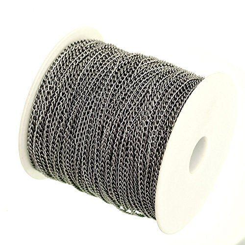 ILOVEDIY 5/100 Meter Gliederkette Aluminum Kabelkette Lin... https://www.amazon.de/dp/B017AT2Q2I/ref=cm_sw_r_pi_dp_lmZvxb0QM9ZGT