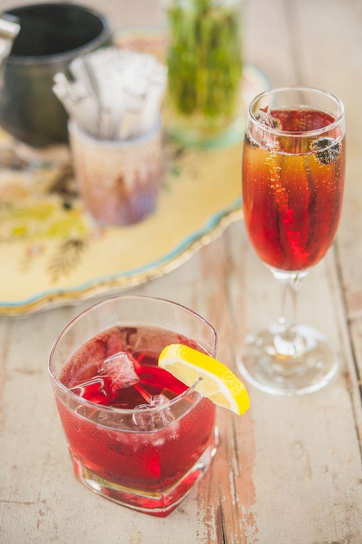 Gin Tonic Cassis Gin Tonic Creme De Cassis Creme De