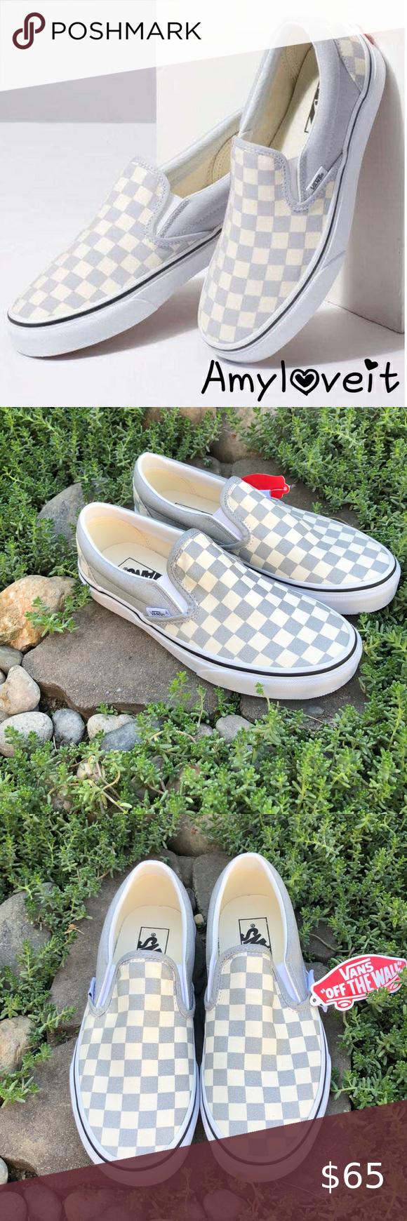 Vans classic slip on, Metallic shoes, Vans