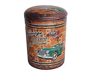 Panchetto contenitore in legno original d h cm arredi