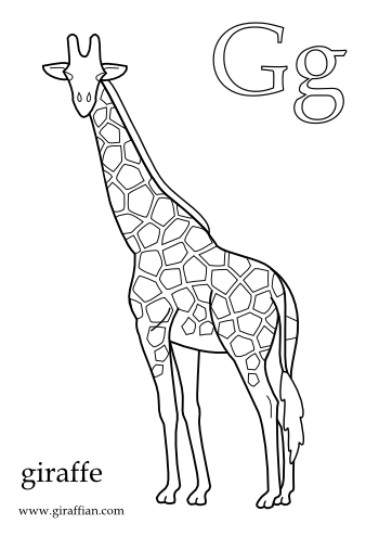 Giraffe Colouring Picture Printable Pdf Giraffe Coloring Pictures Baby Inspiration