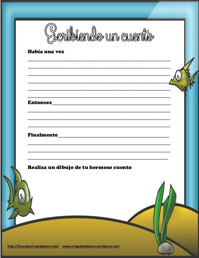 escribir-un-cuento-28314357 by Pabla Arquero Avila via Slideshare ...