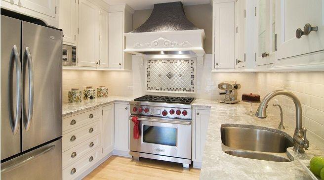 Dise o cocinas cuadradas peque as buscar con google - Diseno cocinas rusticas ...