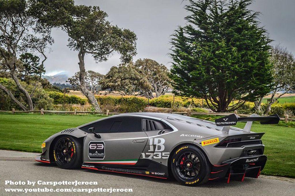 Lamborghini Huracan Lp Super Trofeo Racer Revealed Early