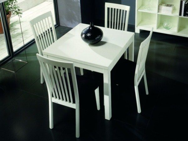 Casabella White Prima Replay Extending Dining Table