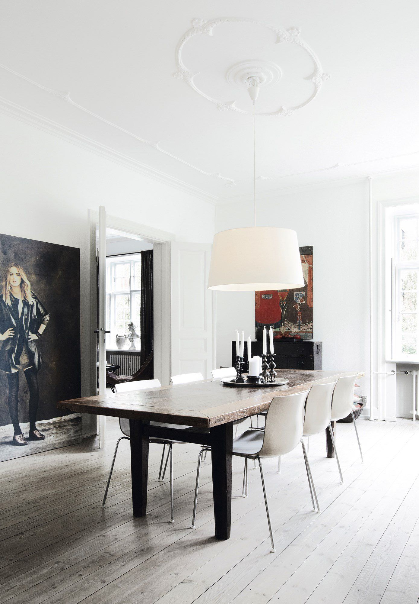 Home Of Fashion Designer Michala Wiesneck  Via Coco Lapine
