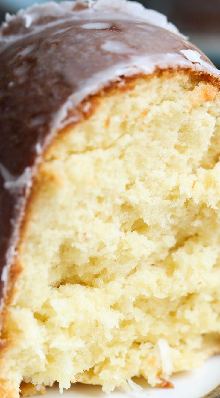 Coconut Cream Cheese Pound Cake Recipe Coconut Cream Pinterest