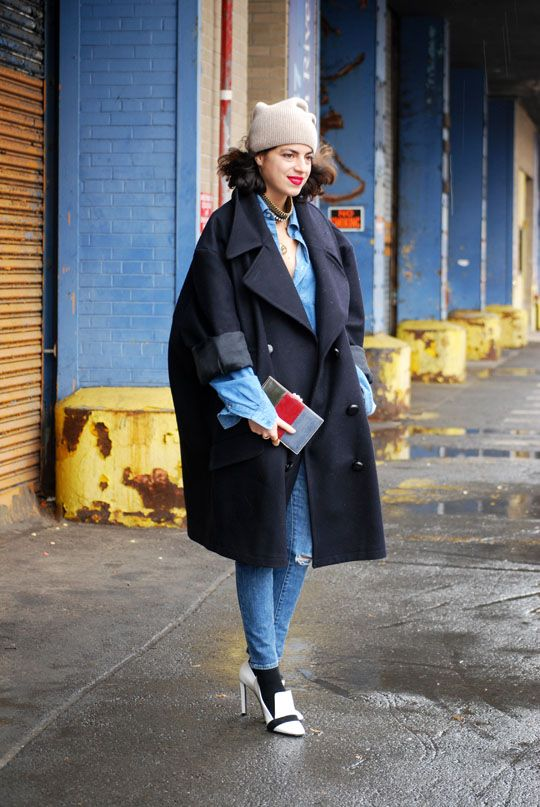 the man repeller - Leandra   fashion week NYC '13