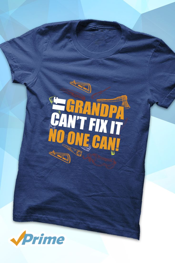 Check out this wonderful grandpa T-shirt we found on Amazon.