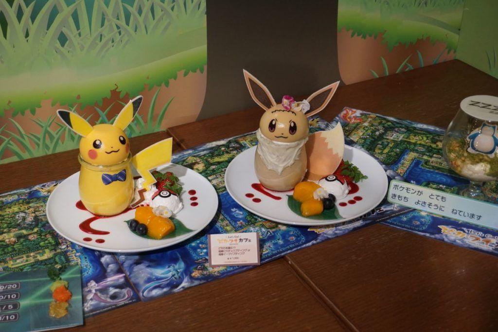 Hasil gambar untuk Let's Go Pikachu Cafe.
