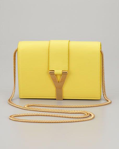 c4a5ae9931 Saint Laurent - Mini Y Ligne Pochette Crossbody Bag