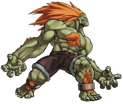 Blanka Street Fighter Blanka Street Fighter Street Fighter