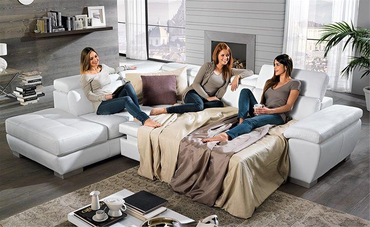 Divano letto viola mondo convenienza happiness couch for Divano viola