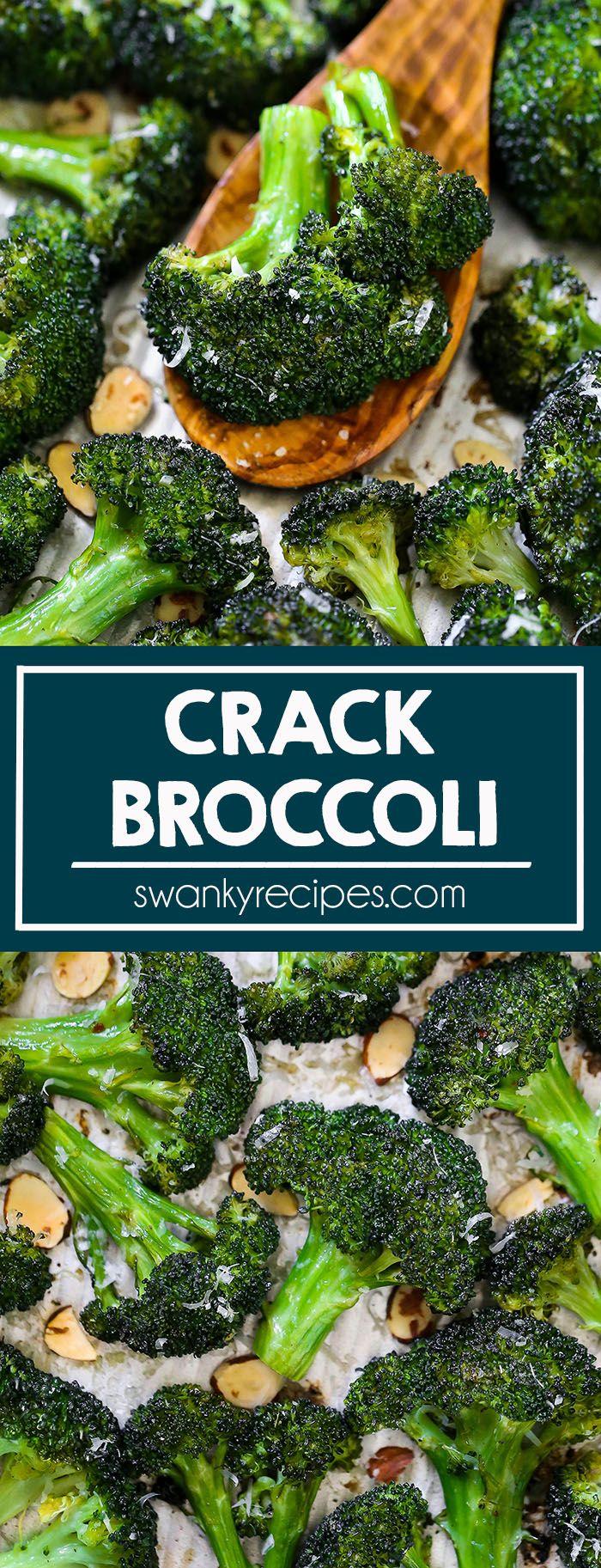 Crack Broccoli #thanksgivingsidedishes