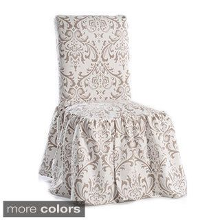 Toile Dining Chair Slipcovers Set Of 2