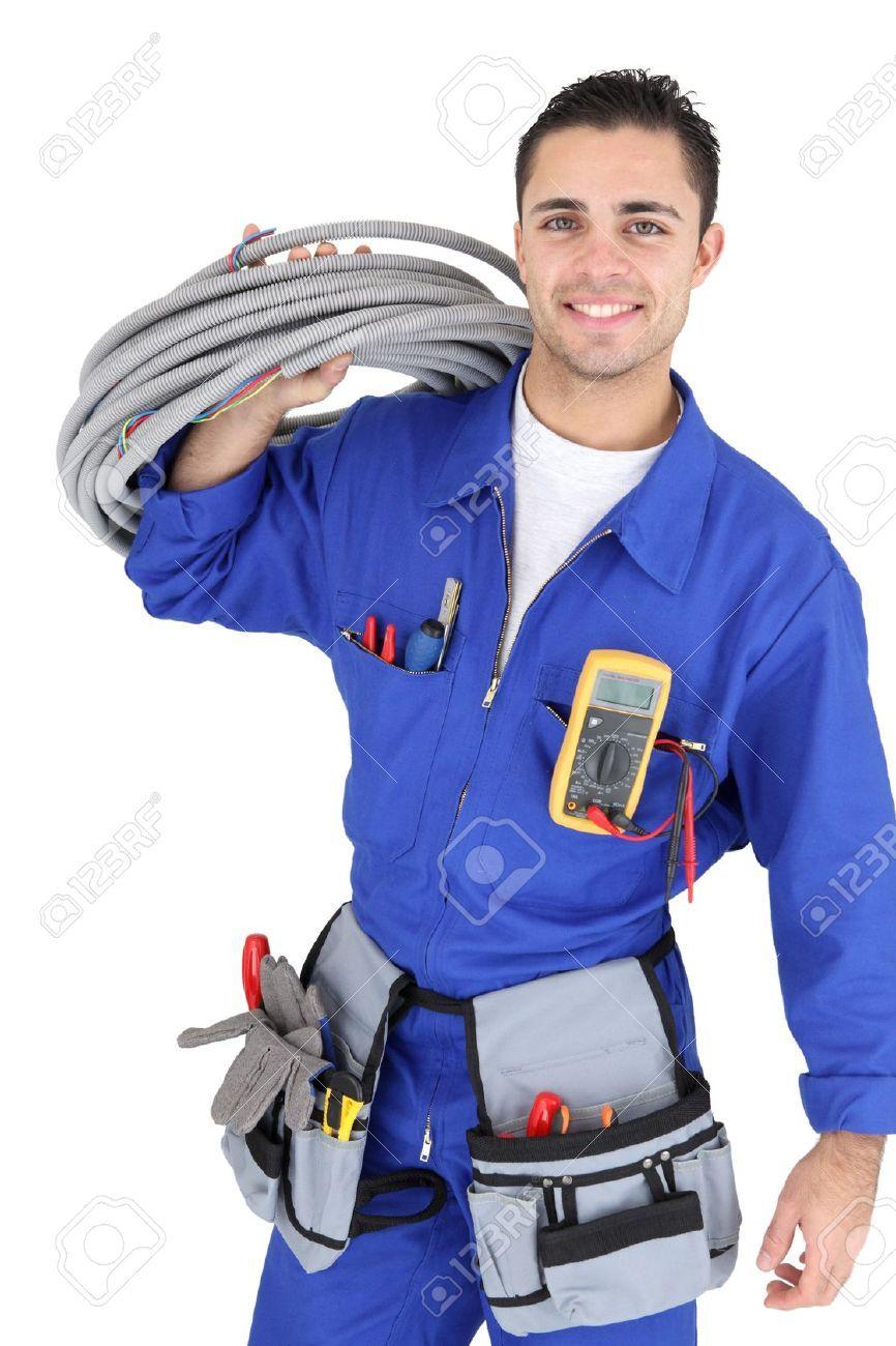 Resultado de imagem para Electrician suit Eletricista, Look