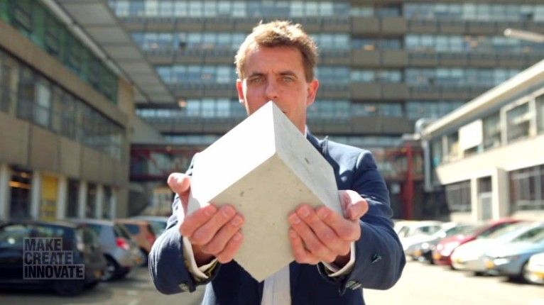 Have you ever heard of a kind of concrete capable of healing itself?