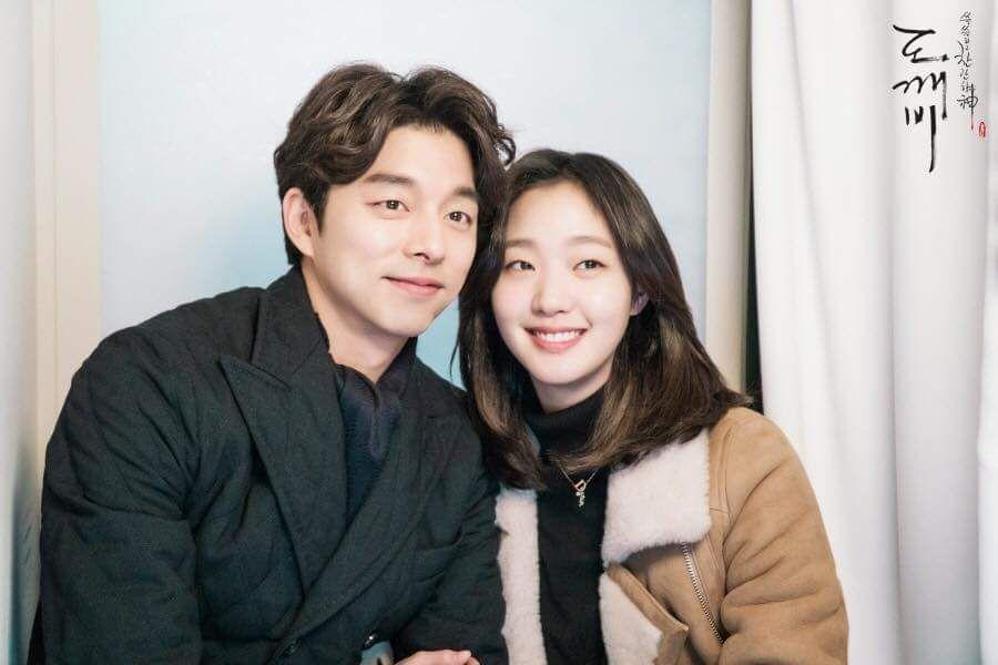 Watch Goblin Cast And Crew Relives The Drama S Magic As Kim Go Eun Summons Gong Yoo At Wrap Party Soompi Goblin Korean Drama Gong Yoo Goblin