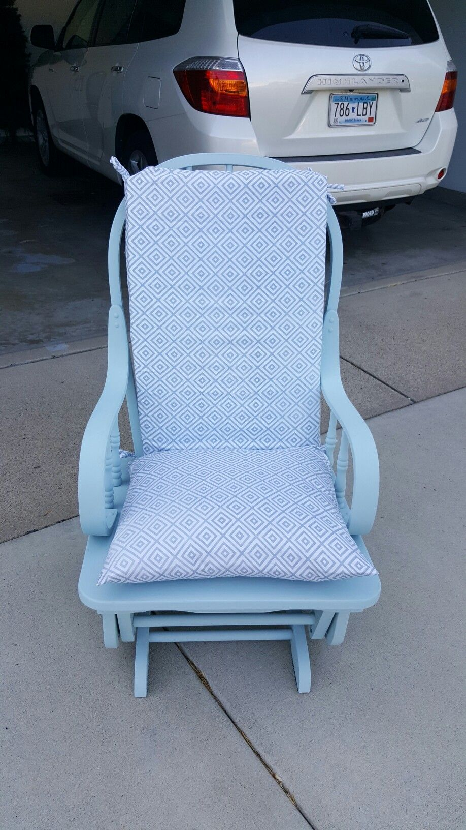 Enjoyable Bought This Rocking Chair From The Thrift Store Used Chalk Gmtry Best Dining Table And Chair Ideas Images Gmtryco