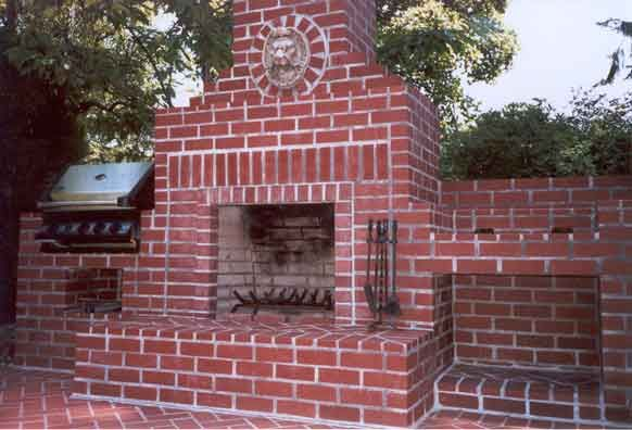 Brick Box Image: Outdoor Brick Grill | Build outdoor ... on Simple Outdoor Brick Fireplace id=93308