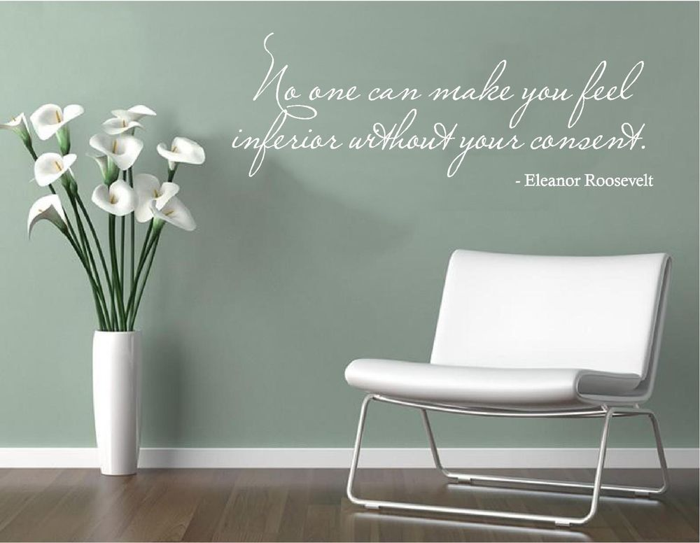 Details About Vinyl Wall Decal Art Saying Quote Decor No Make Feel - How to make vinyl wall decals with cricut