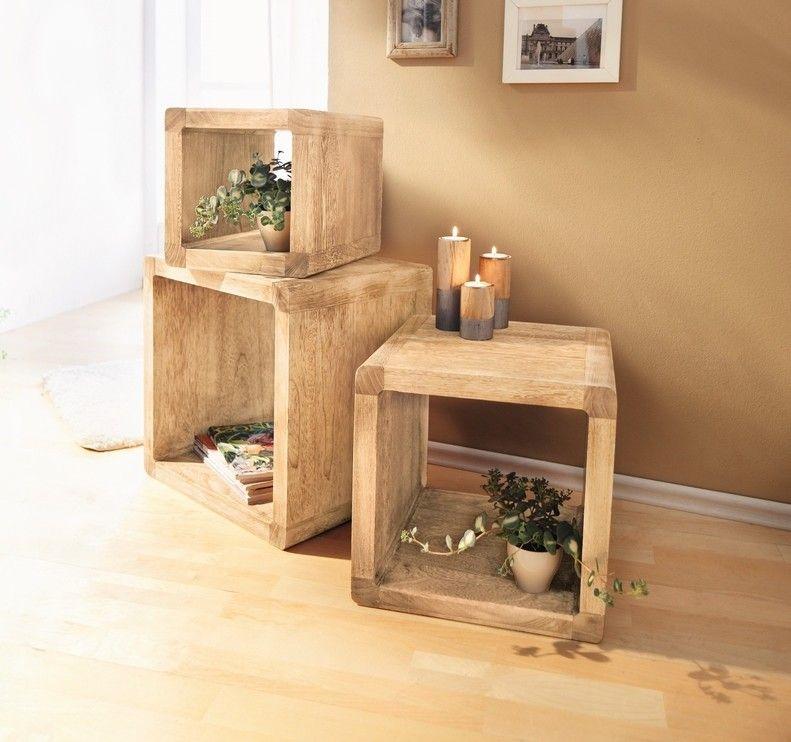 regal cubes geflammt 3er set jetzt f r 125 00 kaufen im frank flechtwaren und deko online. Black Bedroom Furniture Sets. Home Design Ideas