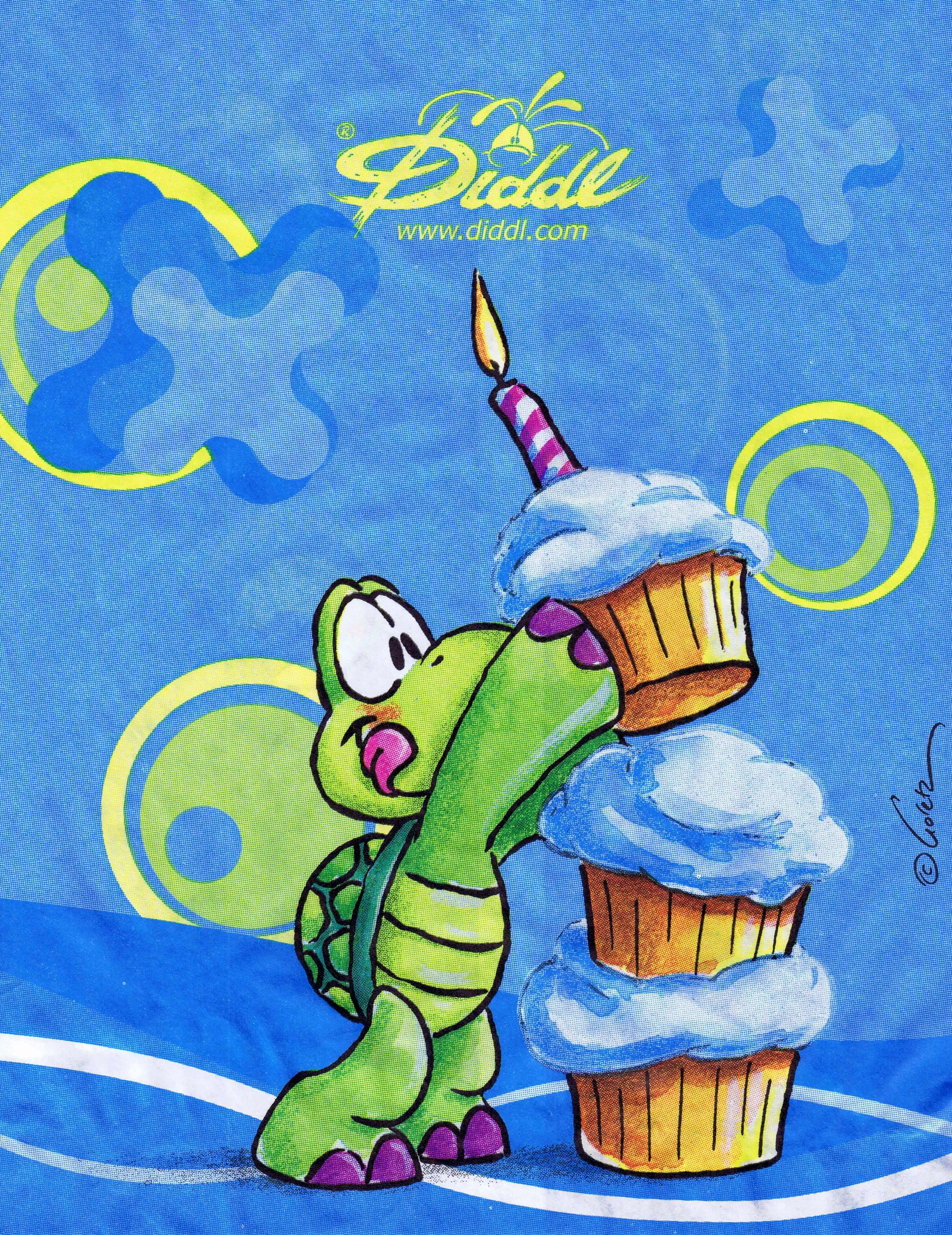 Geburtstagsgrüße Schildkröte