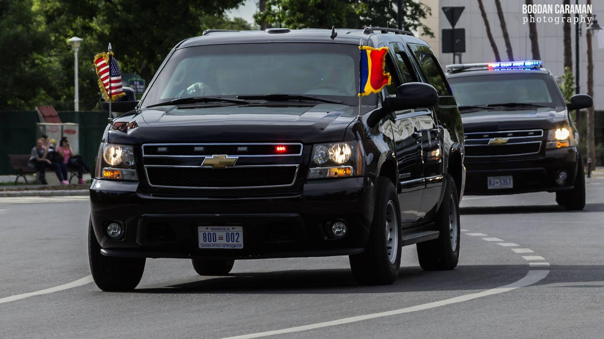 Secret Service Vehicle Bogdan Caraman Photography