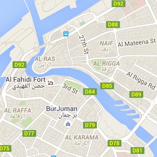 Dubai Map - City Guide and Information | ️ Travel Dubai ️ ...