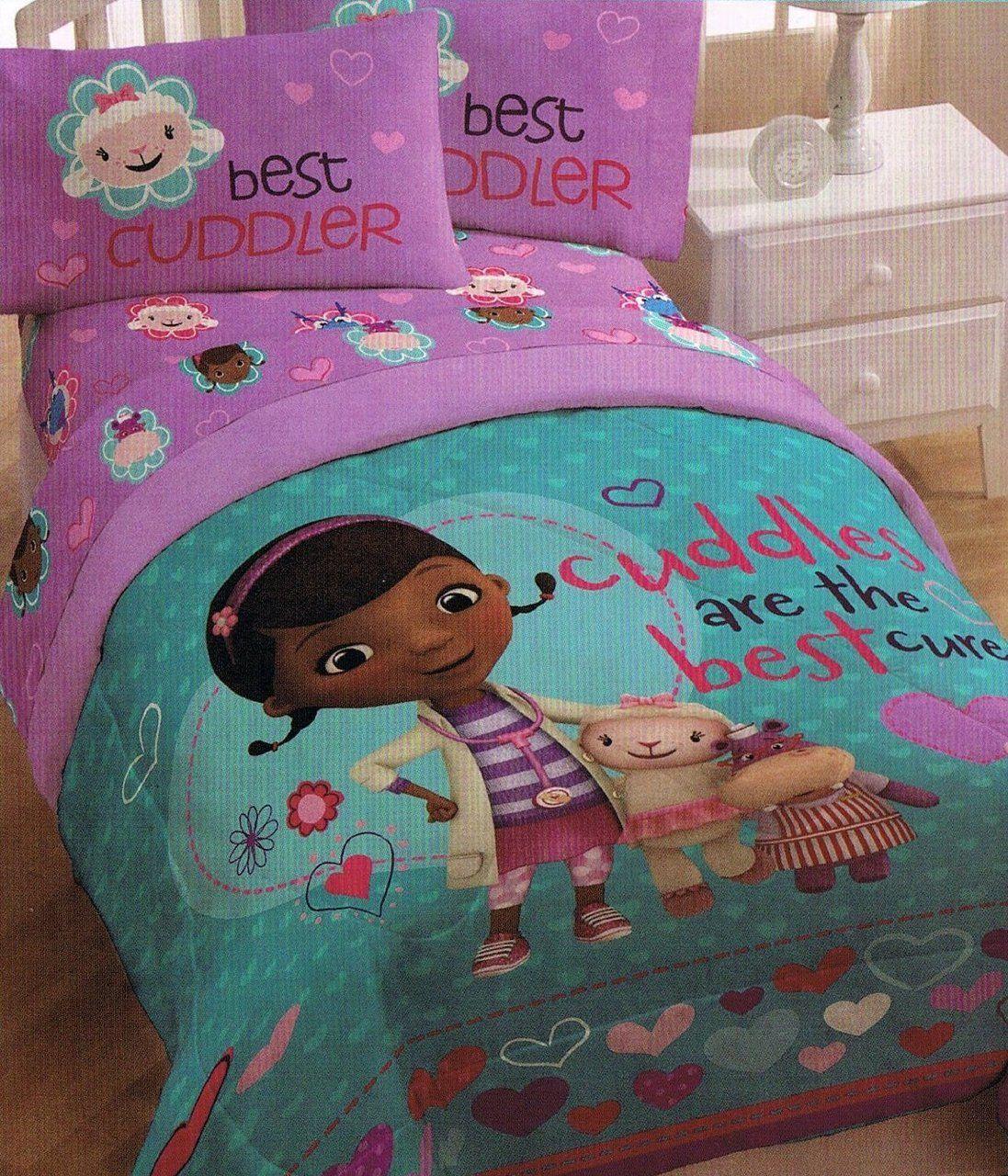 Disney Doc Mcstuffins Full Sheet Set Bedding Sets Kidswhs Com