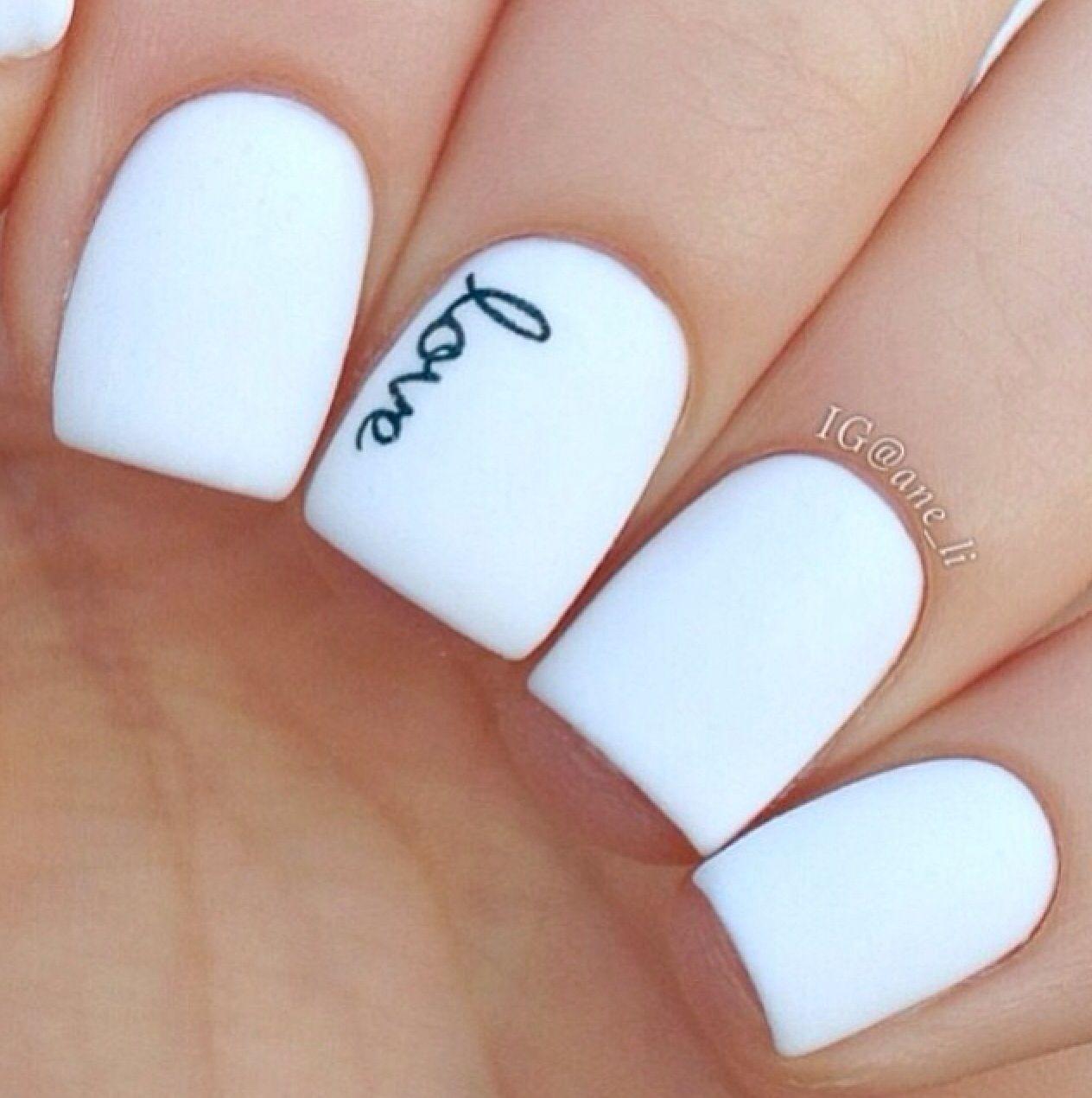 Branco | ❤ nails❤ | Pinterest | Esmalte, Arte de uñas y Uñas ...