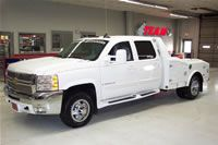 2009 Chevy 4500 Crew Cab Hauler Bed Dually