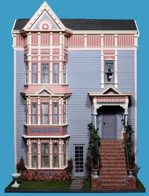 Modern Townhouse Townhouse Designs San Francisco: Dollhouse Number 12 - San Francisco Victorian